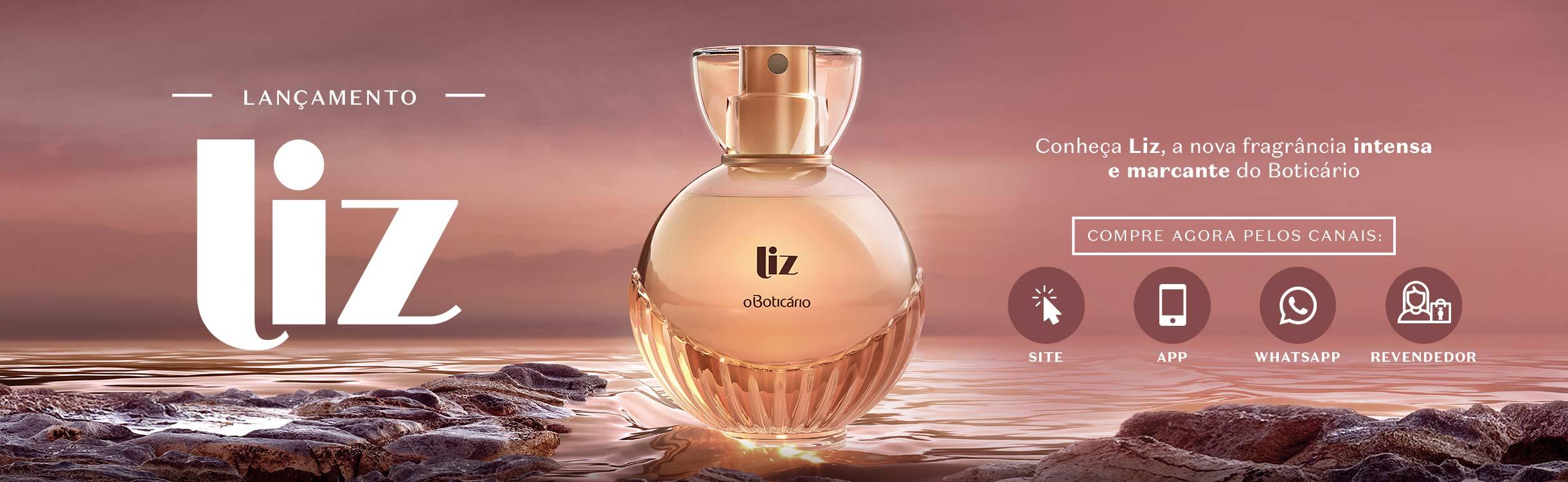 Conheça Liz, a nova fragrância do Boticário.