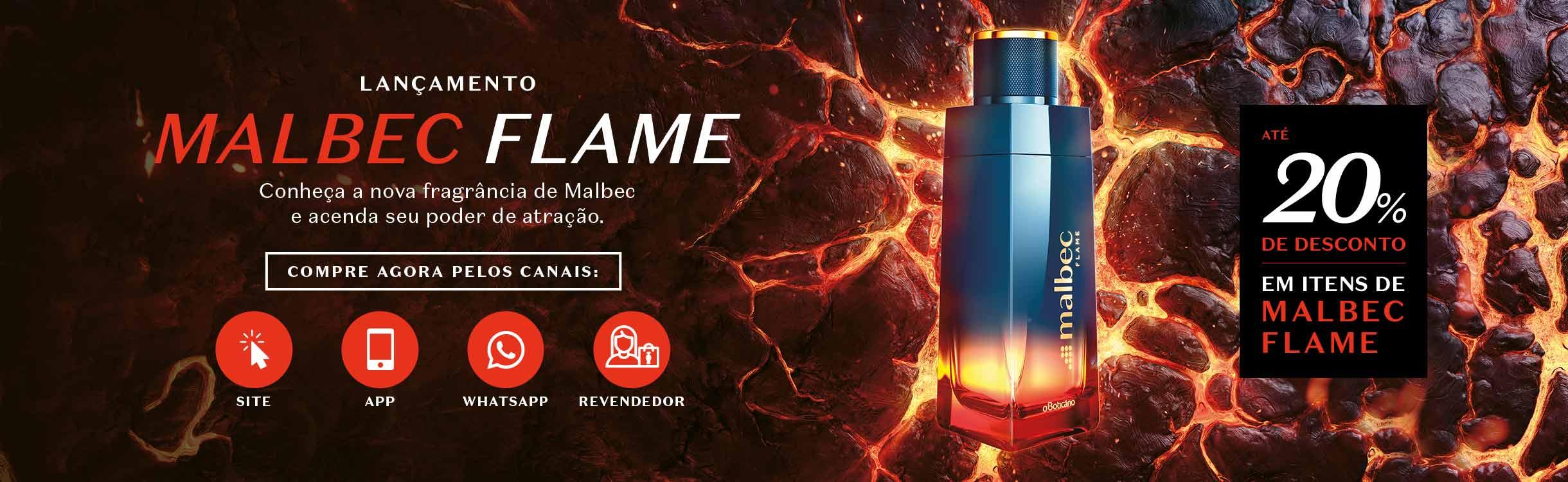 Conheça Malbec Flame, a nova fragrância do Boticário
