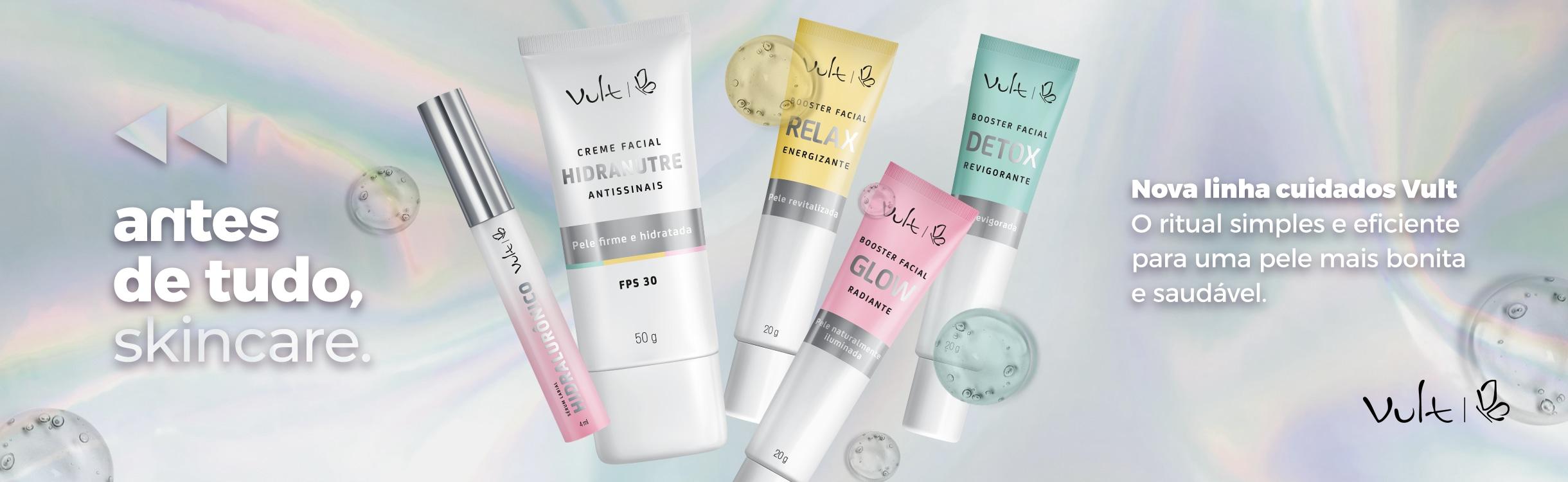 Potencialize seu Skincare com Vult