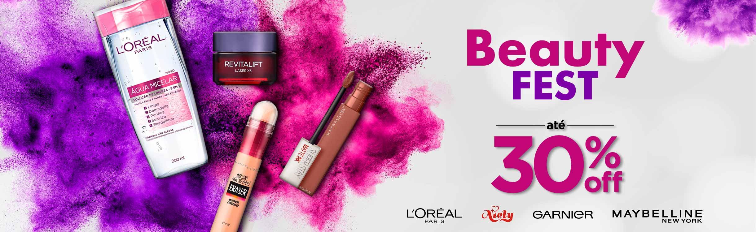 Beauty Fest 30%OFF