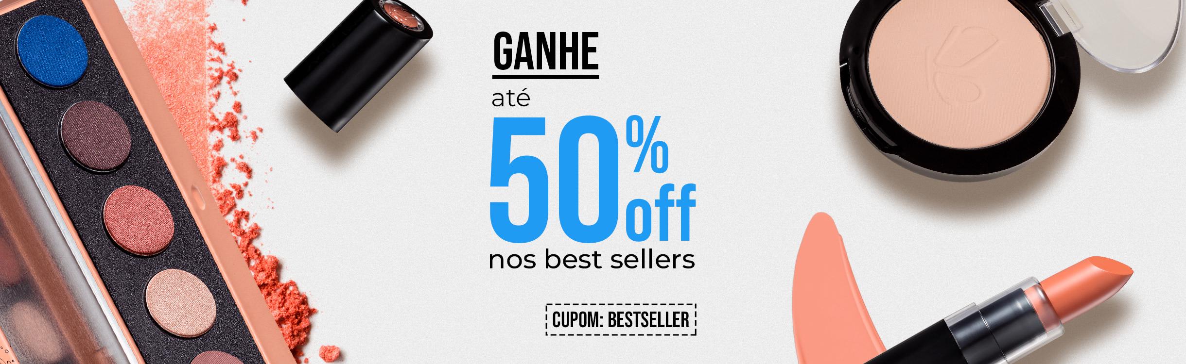 Exclusivo: Ganhe até 50%Off Extra nos Best Sellers