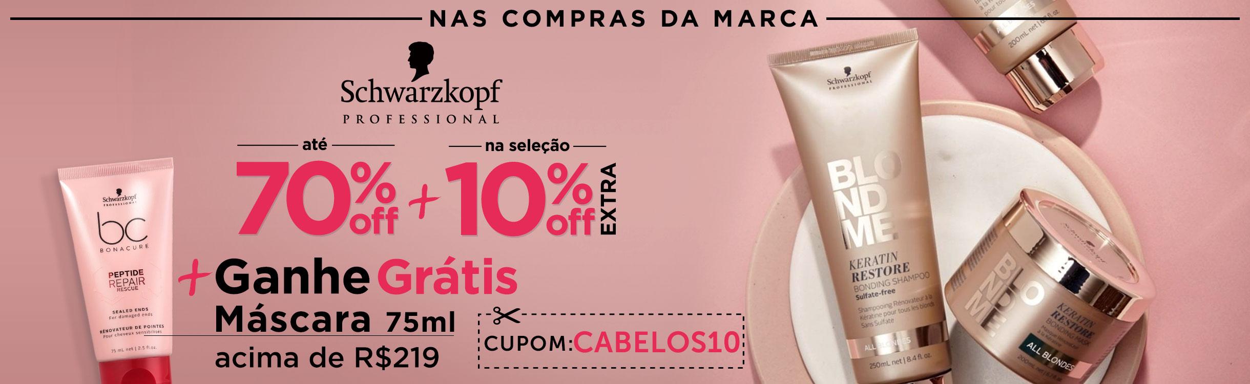Especial | Schwarzkopf com 10% extra