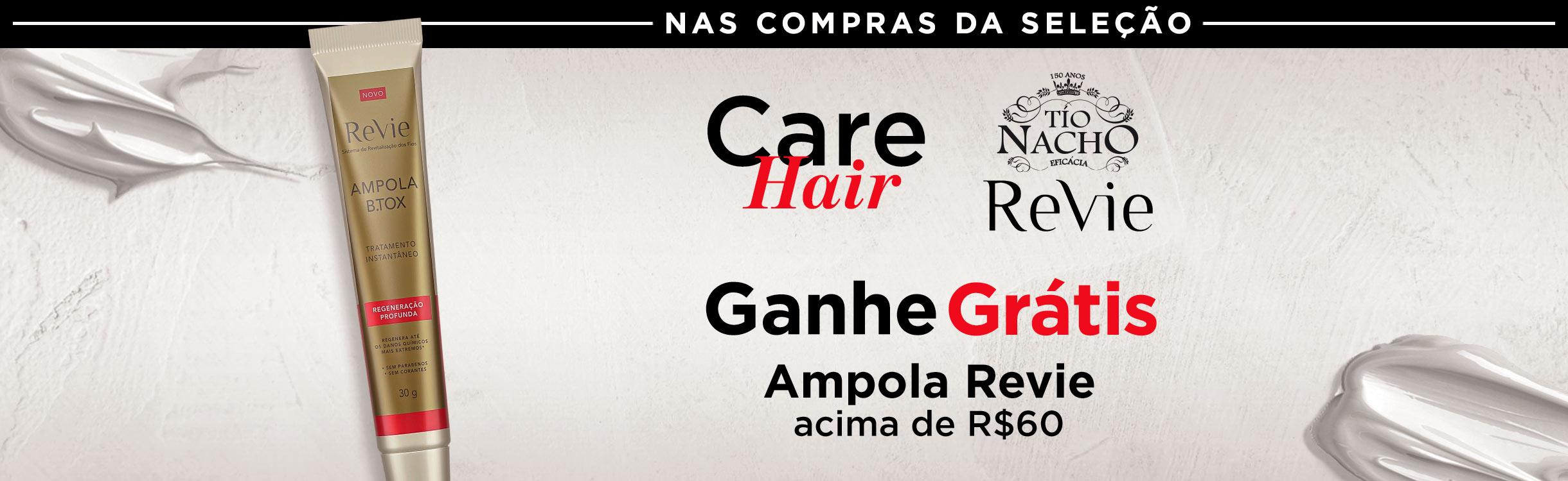 Care Hair | Tio Nacho e Revie