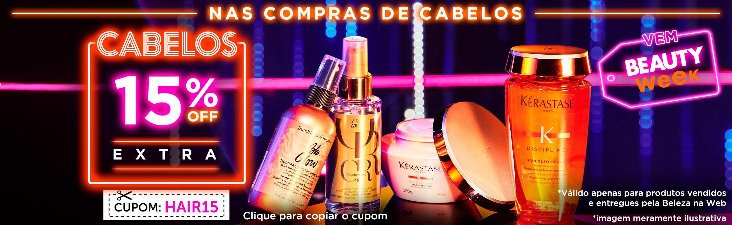 Beauty Friday | Cabelos com Desconto Extra