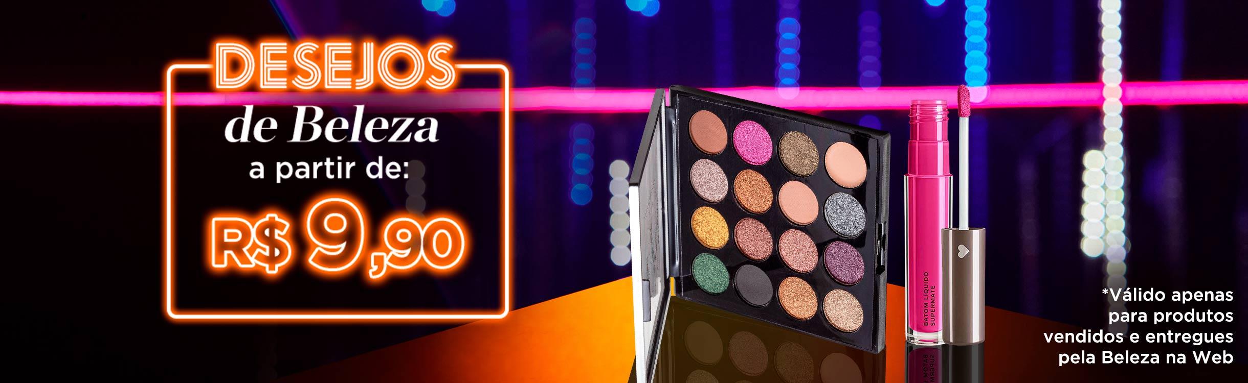 TBT da Beauty Friday   Desejos de Beleza a partir de R$9,90