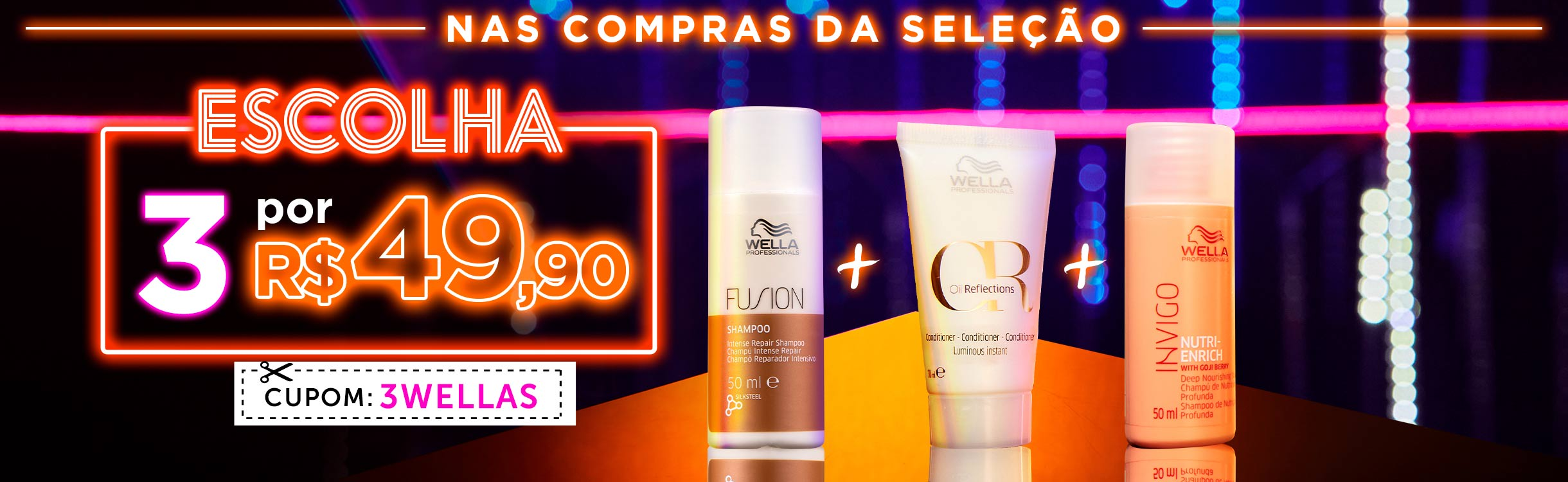 Beauty Friday | 3 Wella por R$ 49,90