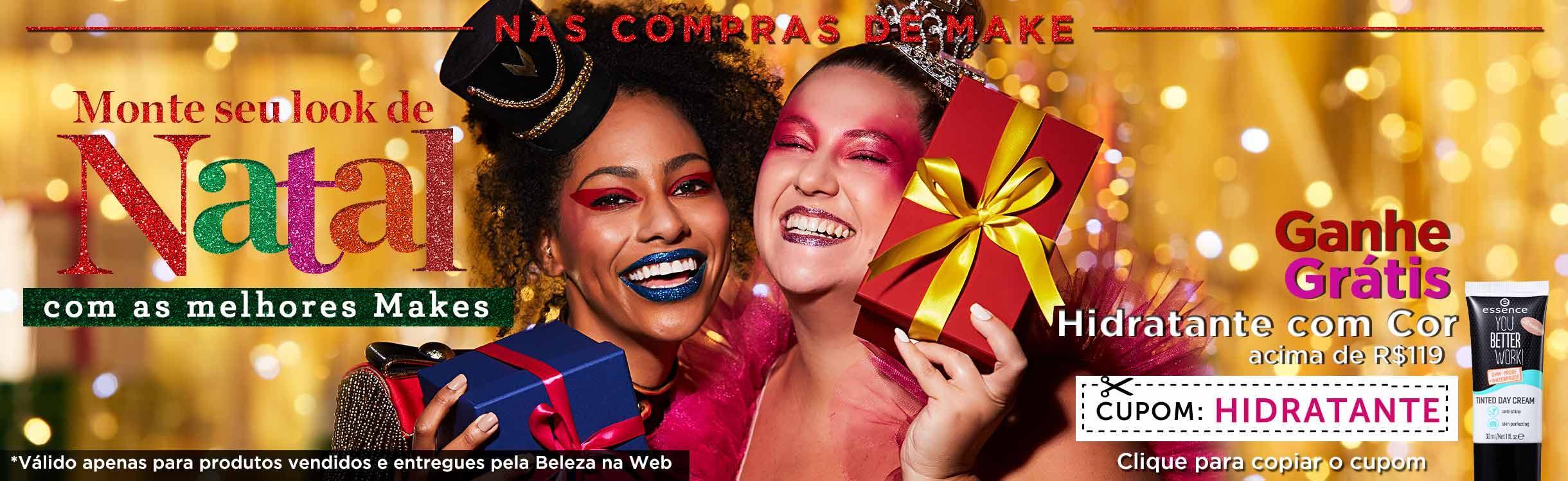 Maquiagem para Presente de Natal