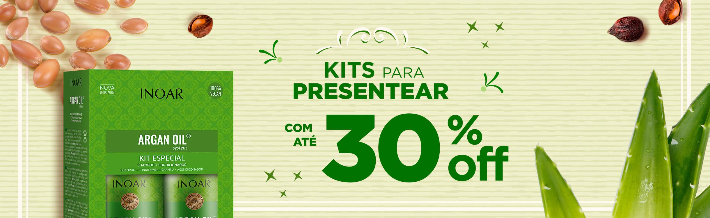 Kits para Presentear com até 30%OFF