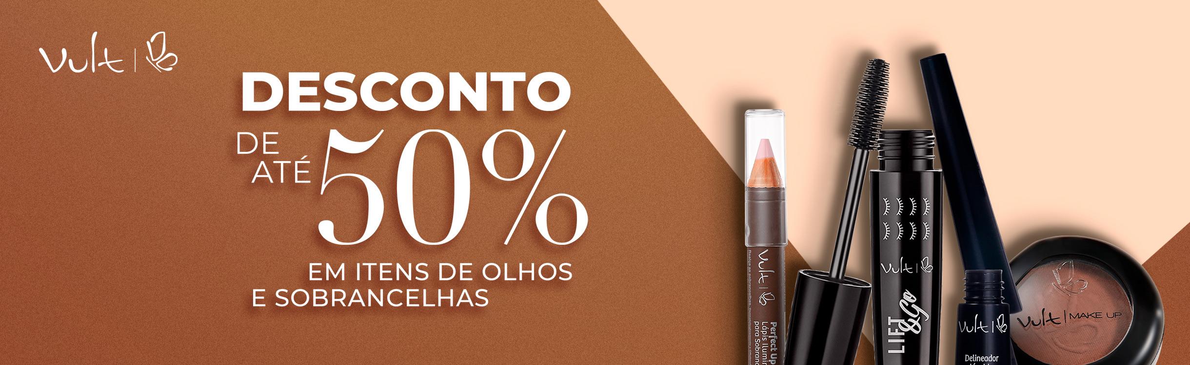 Produtos para Sobrancelhas e Olhos com até 50%OFF