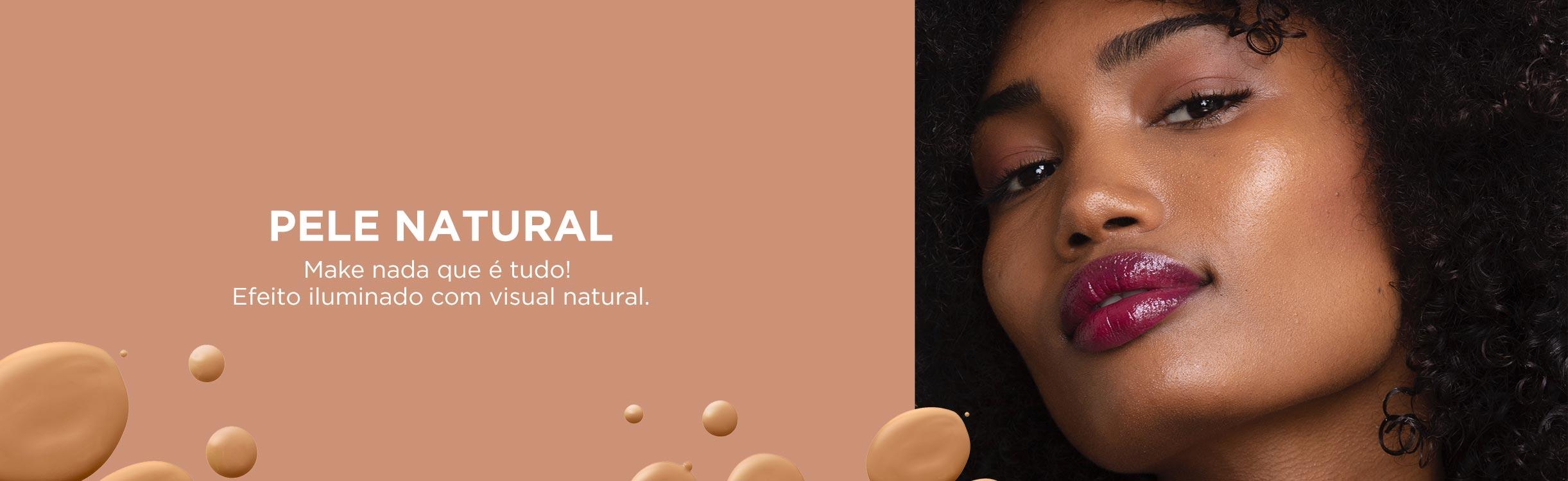 Pele Natural e Iluminada