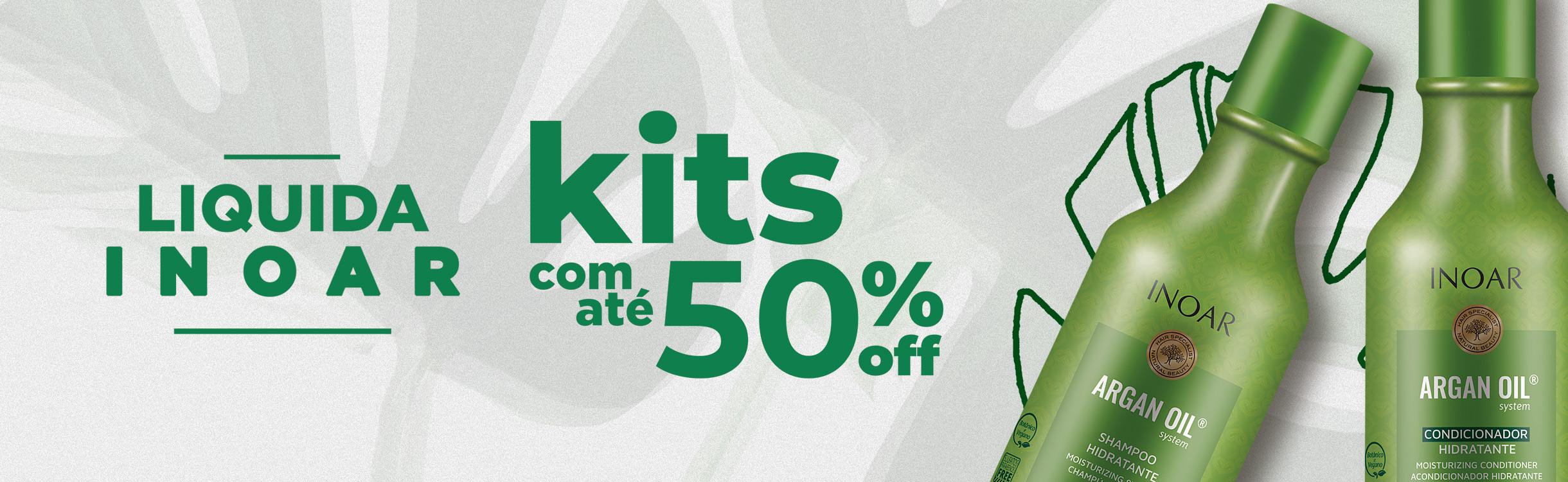 Kits com até 50% OFF