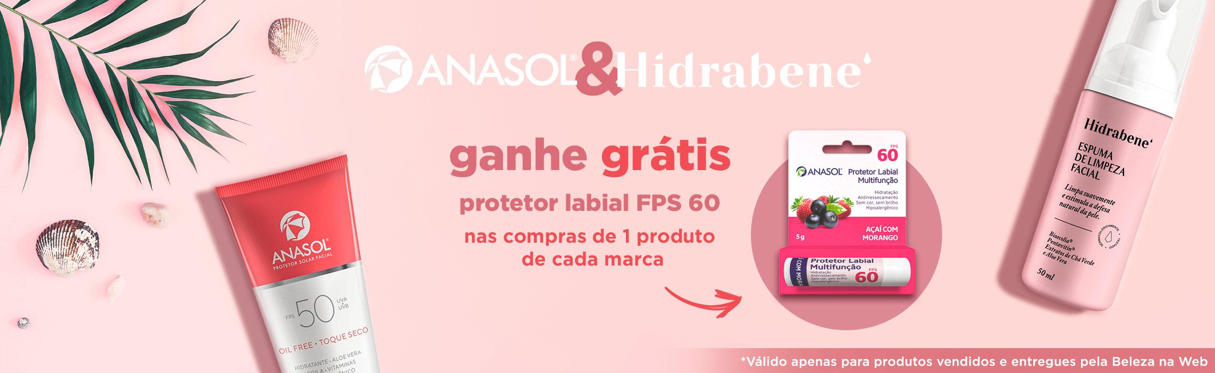 Proteção e Cuidados Diários com Anasol & Hidrabene