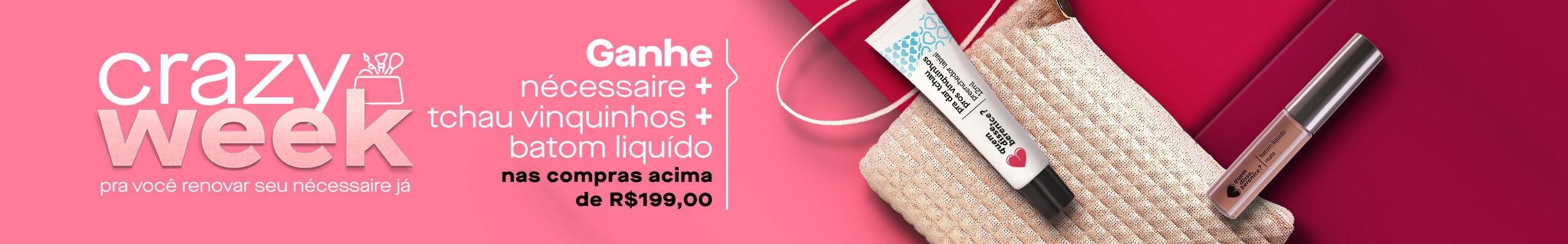 Promoção Especial - Ganhe Brinde nas compras acima de R$199