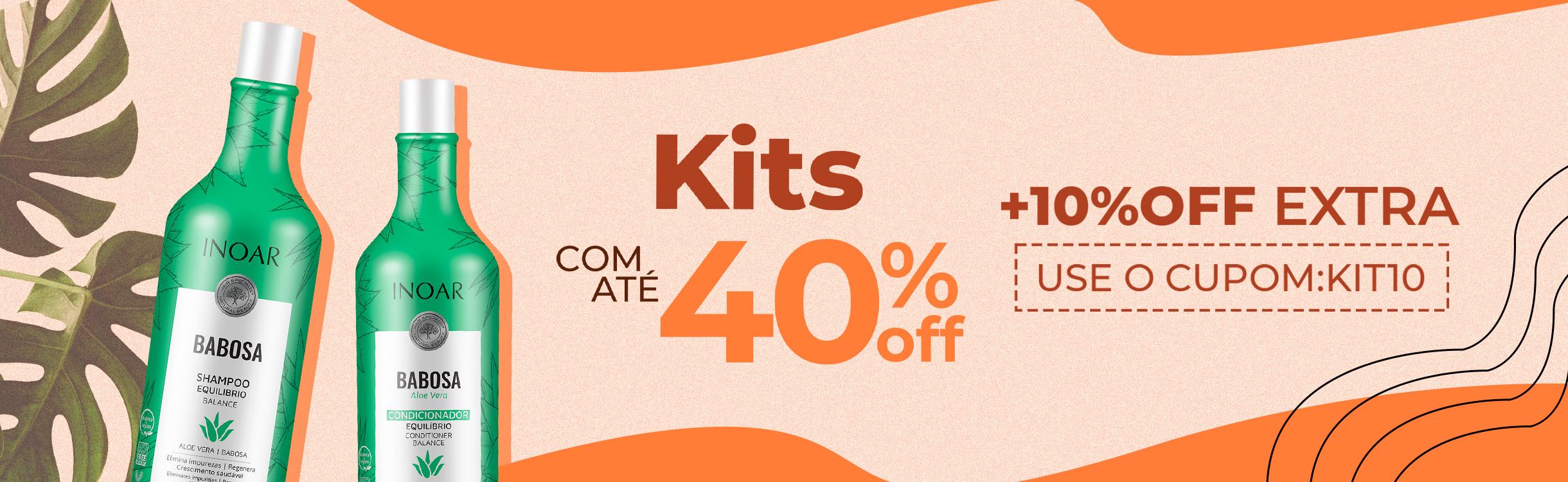 Kits com até 40%OFF