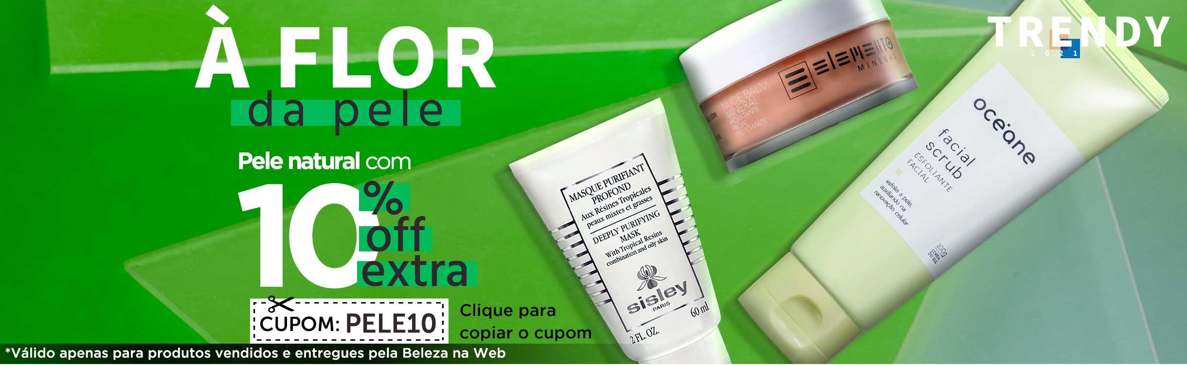 Skincare | Pele natural com 10% extra