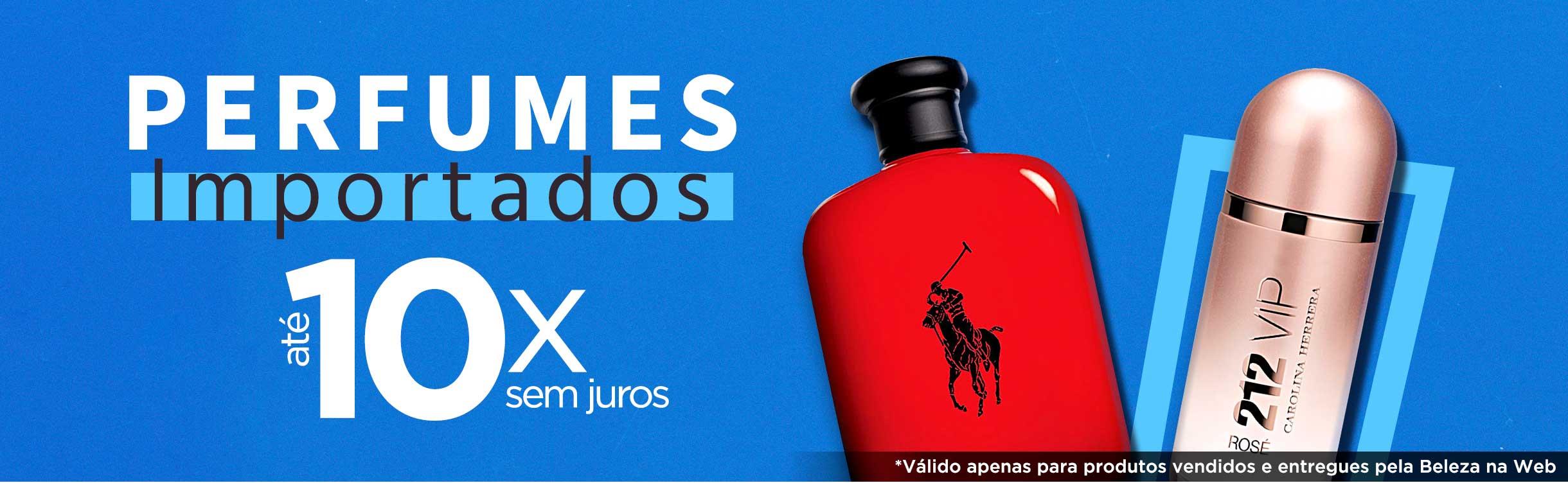 Perfumes e Perfumaria em até 10x sem juros