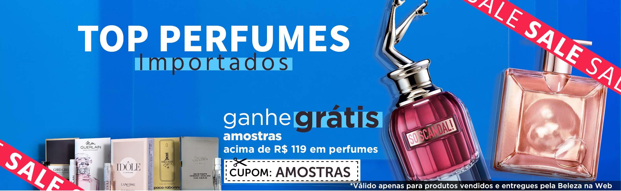 Perfumes e Perfumaria Importados em até 10x