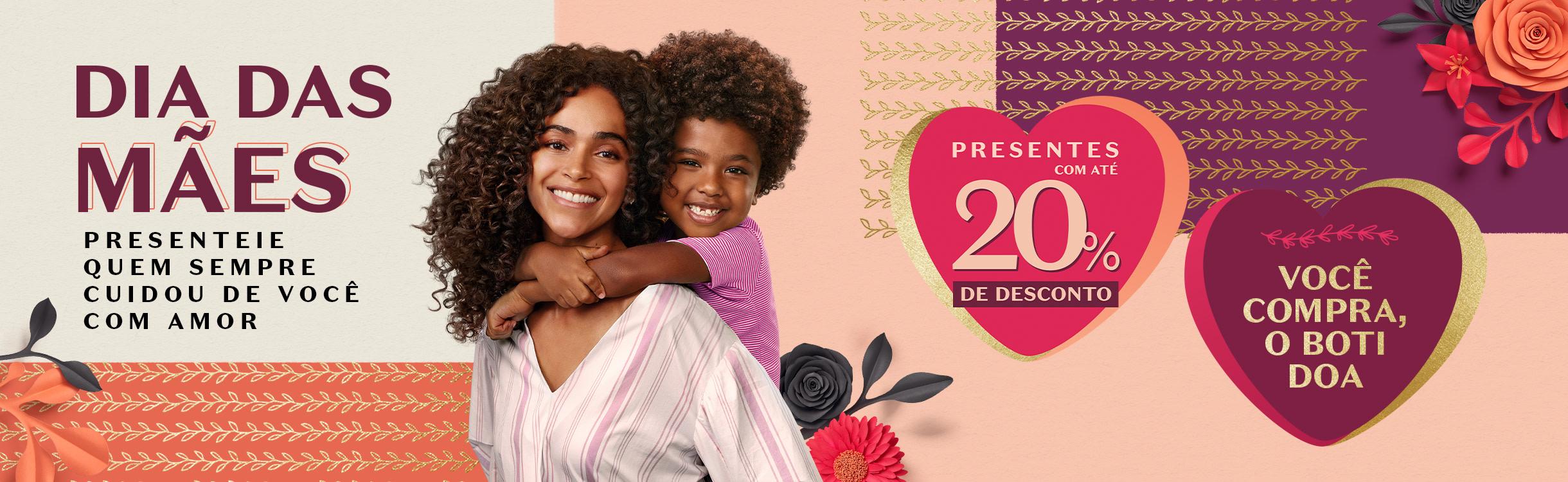Dia das Mães: Presentes até R$149,90