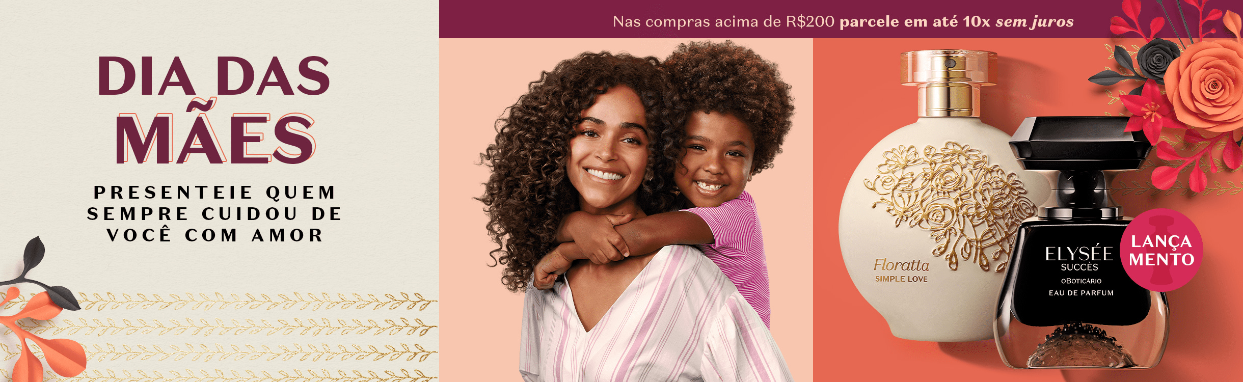 Dia das Mães: Presentes até R$59,90