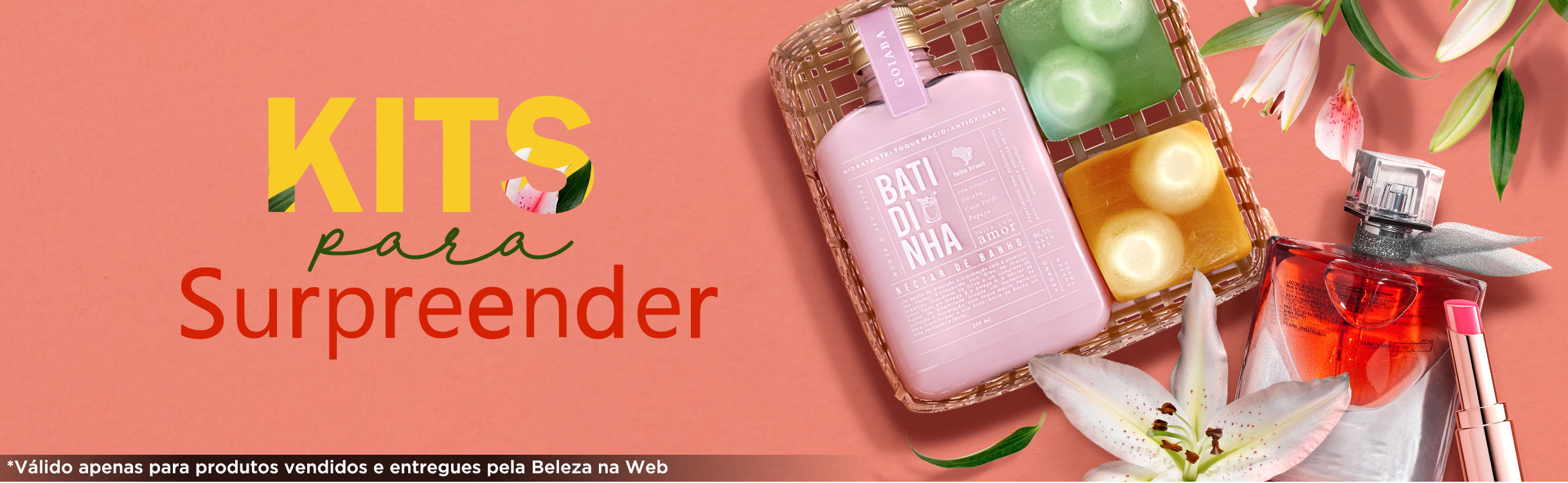 Kits para Presente de Dia das Mães