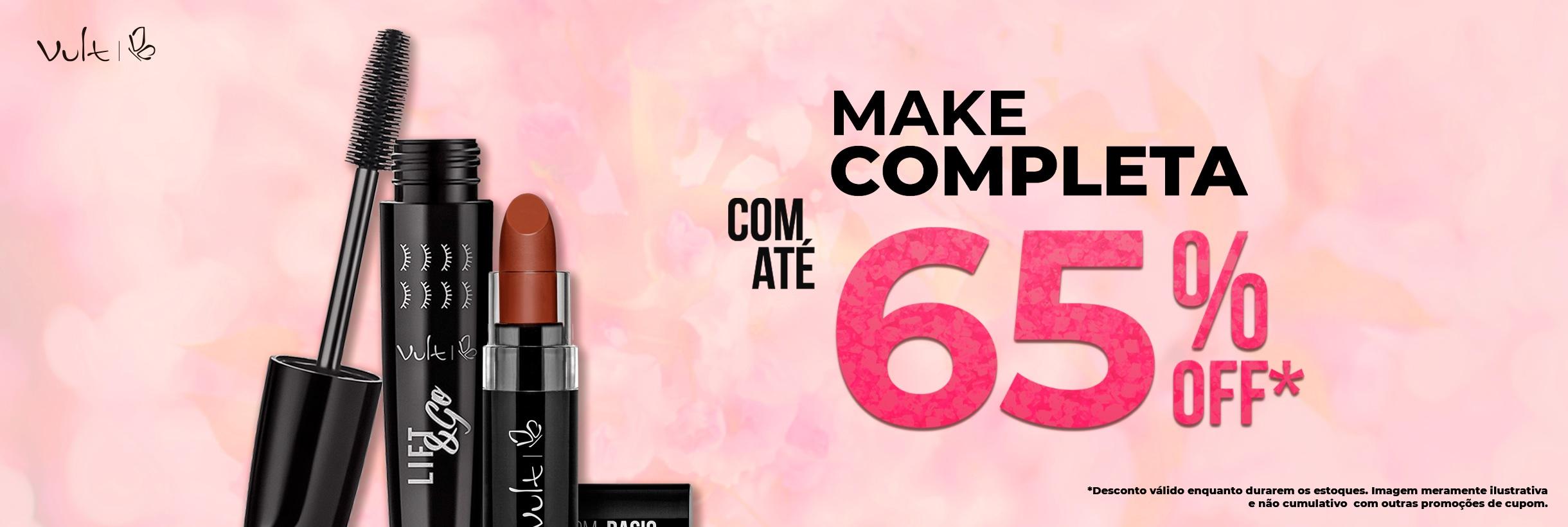 Make Completa com até 65%OFF