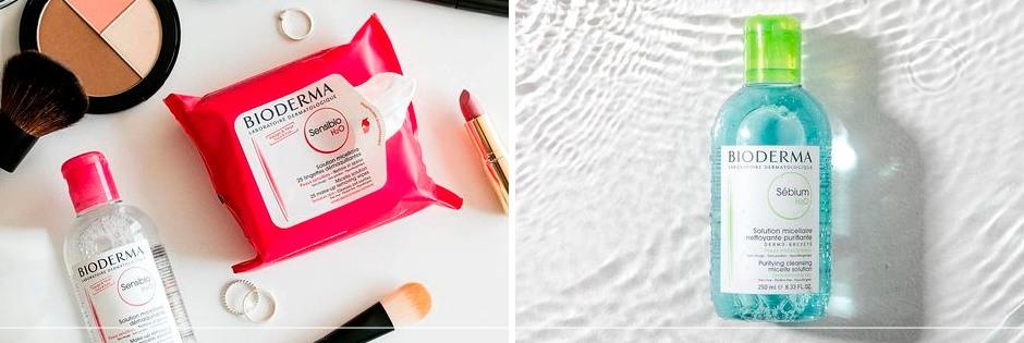 Kits Completos Bioderma de Maquiagem