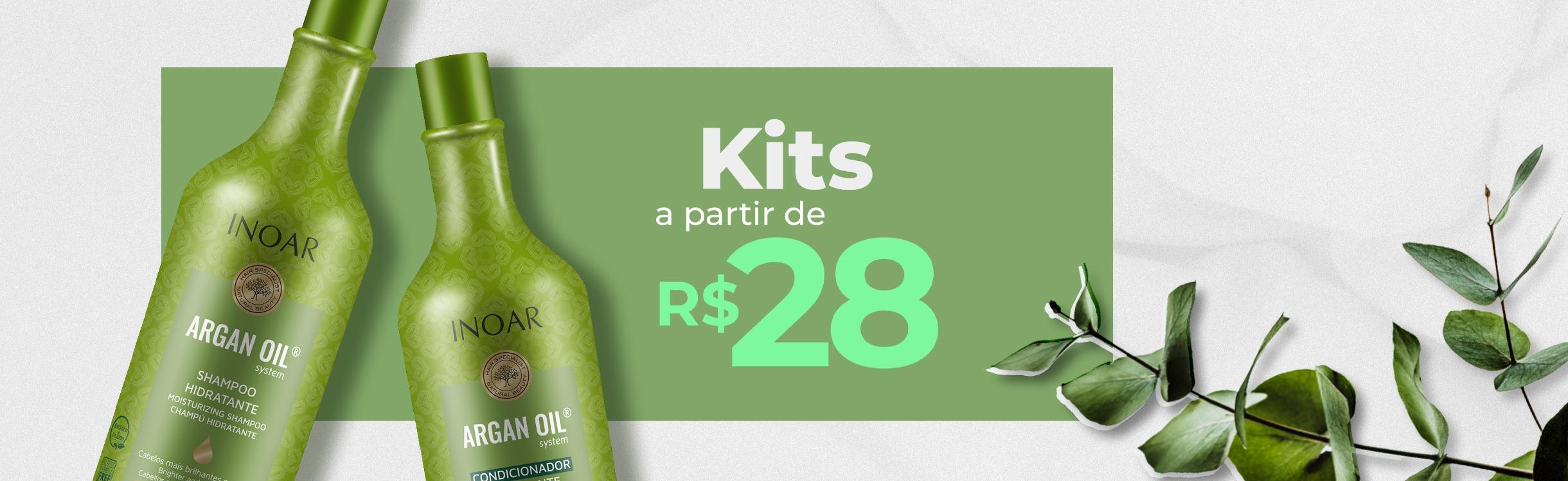 Kits a partir de R$28
