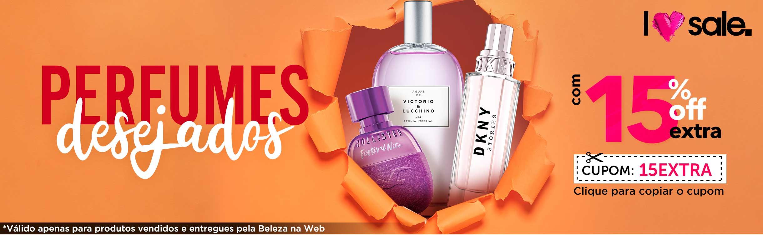 Perfumes e Perfumaria com Desconto Especial