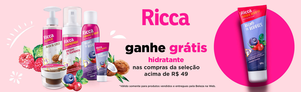Ritual de Skincare com Ricca