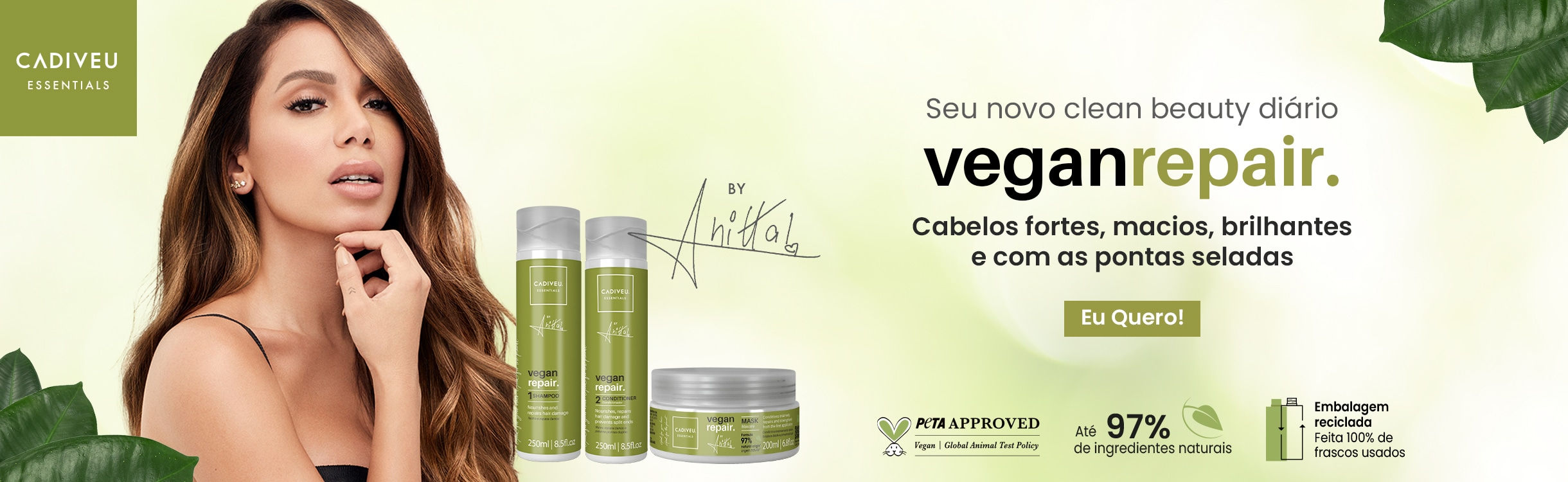 Cadiveu Professional/Vegan Repair by Anitta