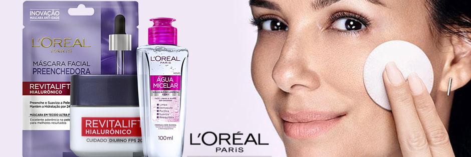 Kits L'Oréal Paris de Tratamento de Pele