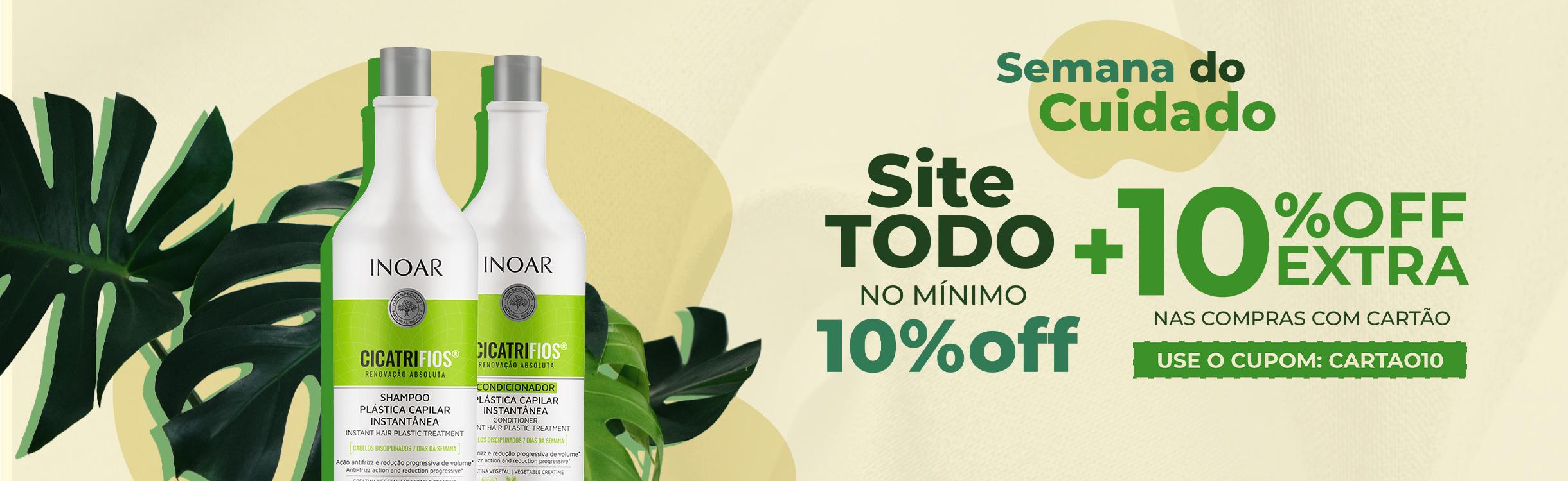 Site TODO com no mínimo 10% OFF  + 10%OFF Extra