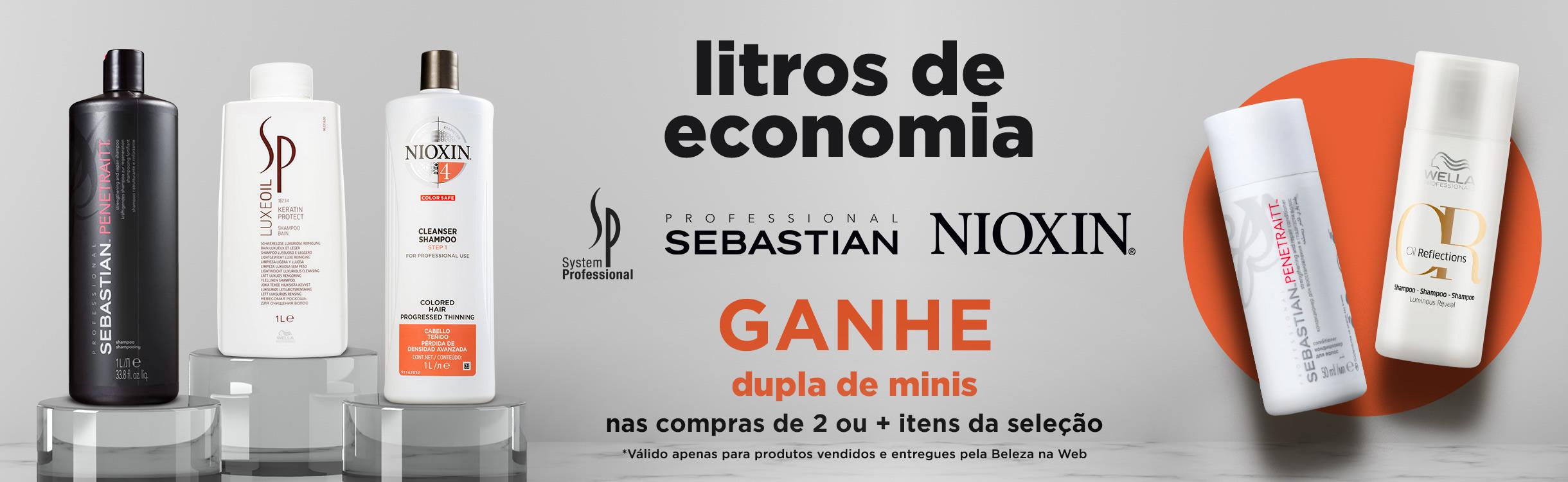 Litros de Economia + Ganhe 2 Minis