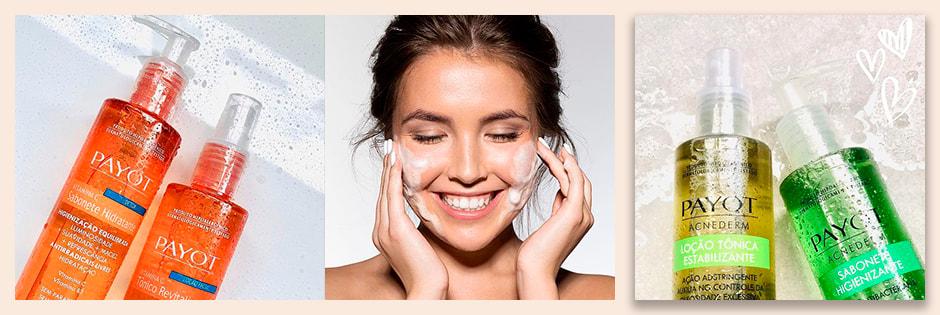 Adstringente e Tônico Facial Payot