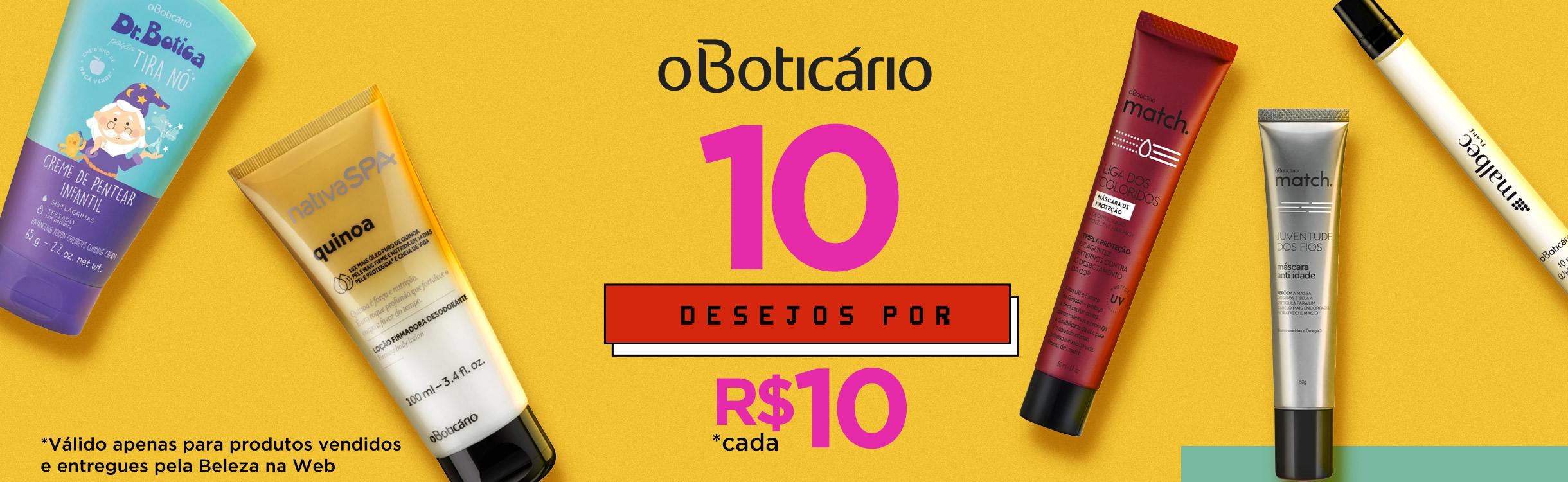 10 Desejos por R$10 cada