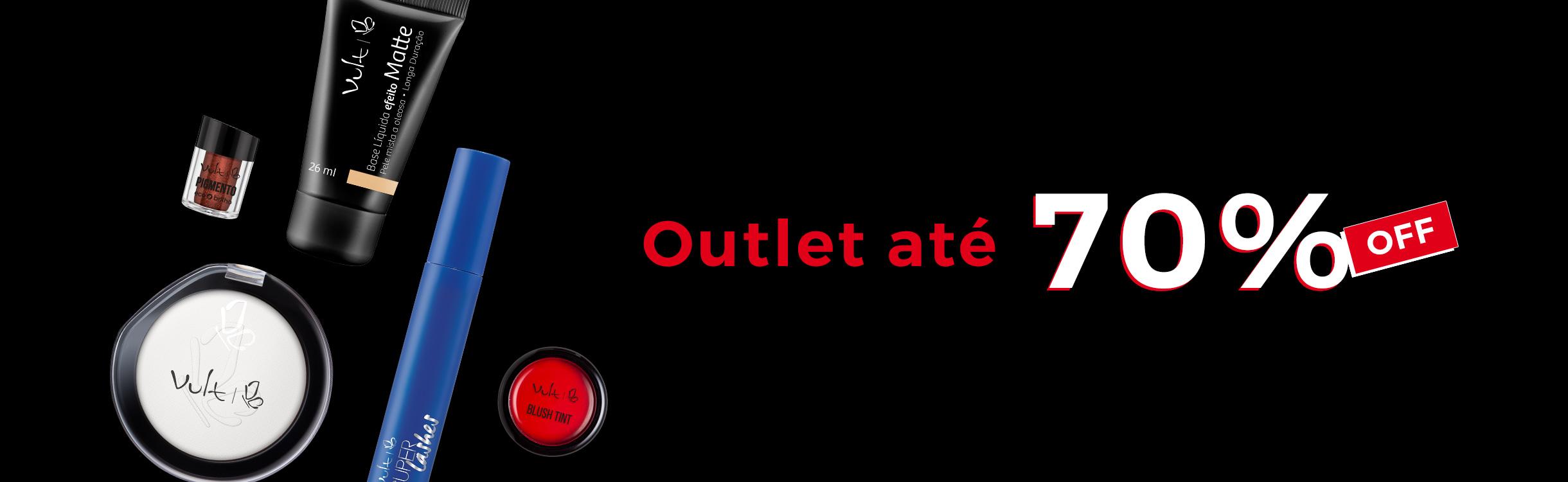 Outlet até 70%OFF