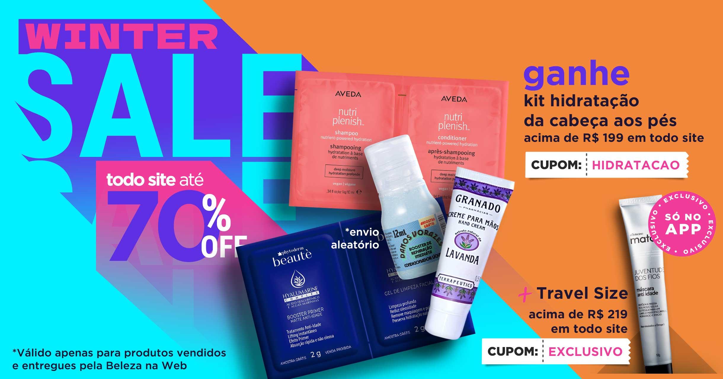 Winter Sale até 70%OFF