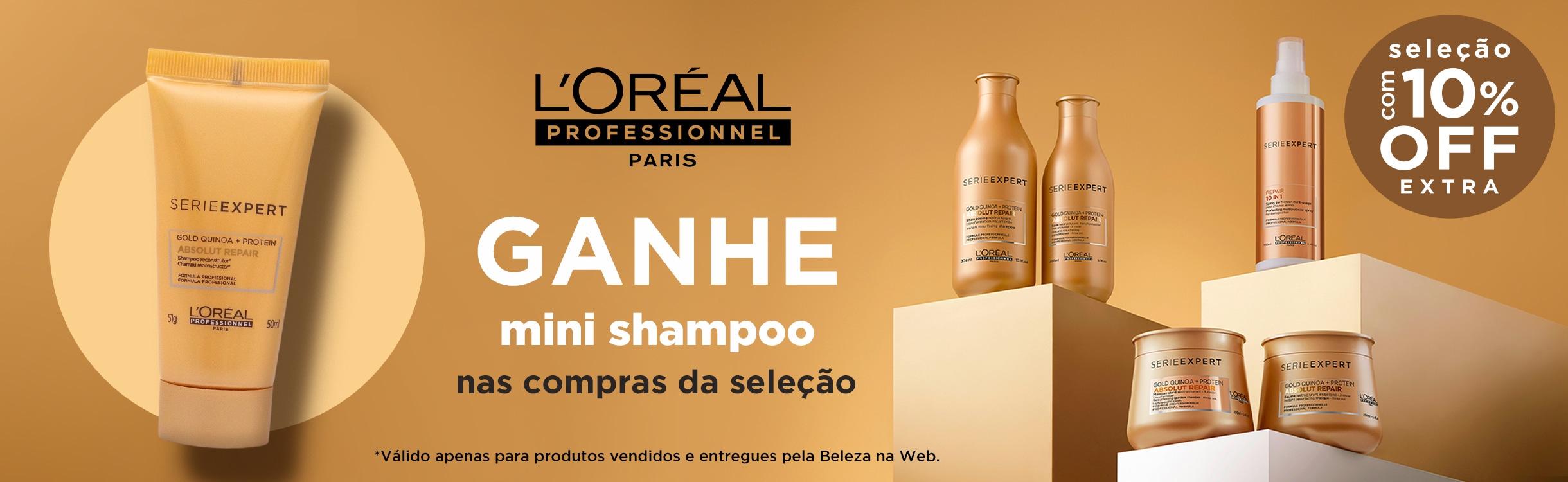 10% OFF Extra em L'oréal Professionnel