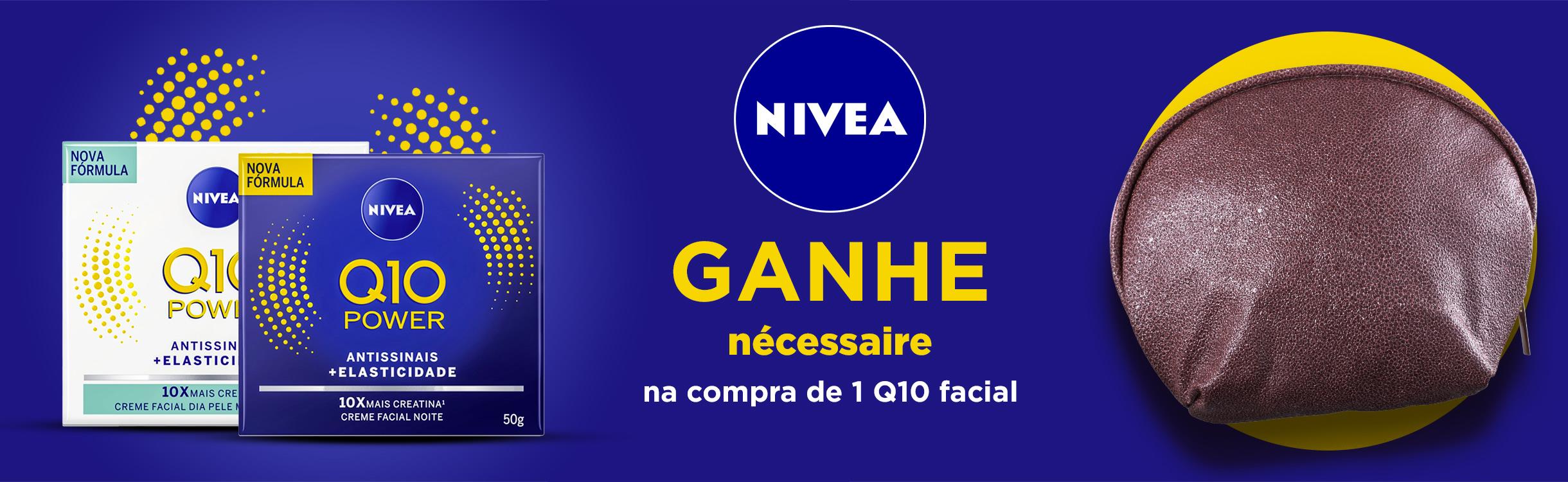 Nivea | Ganhe nécessaire na compra de 1 Q10