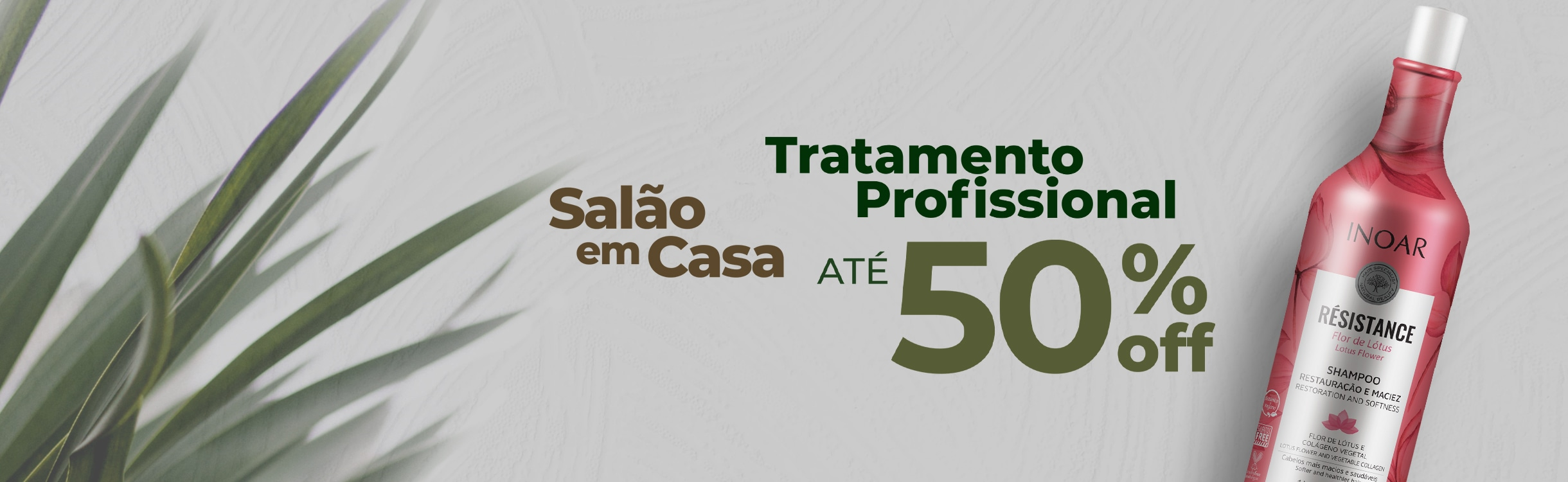Tratamento Profissional até 50%OFF
