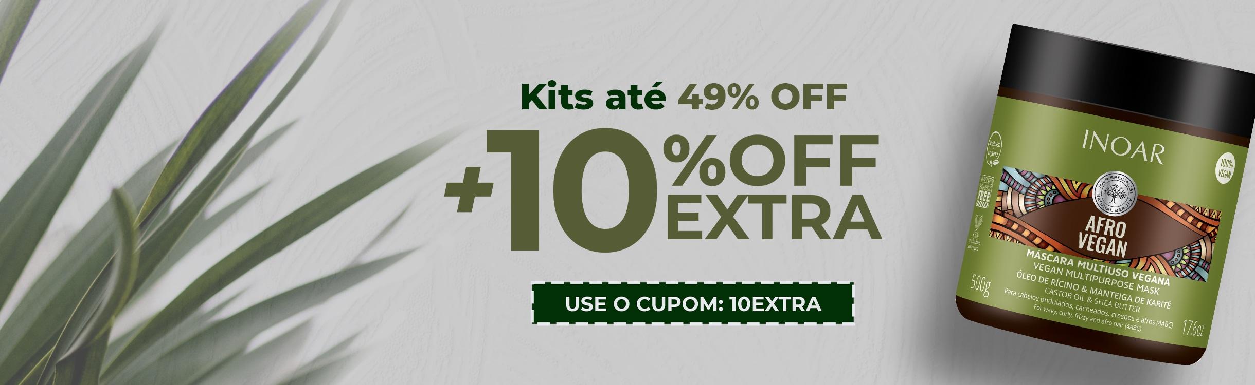 Kits com até 50%OFF + 10%OFF Extra