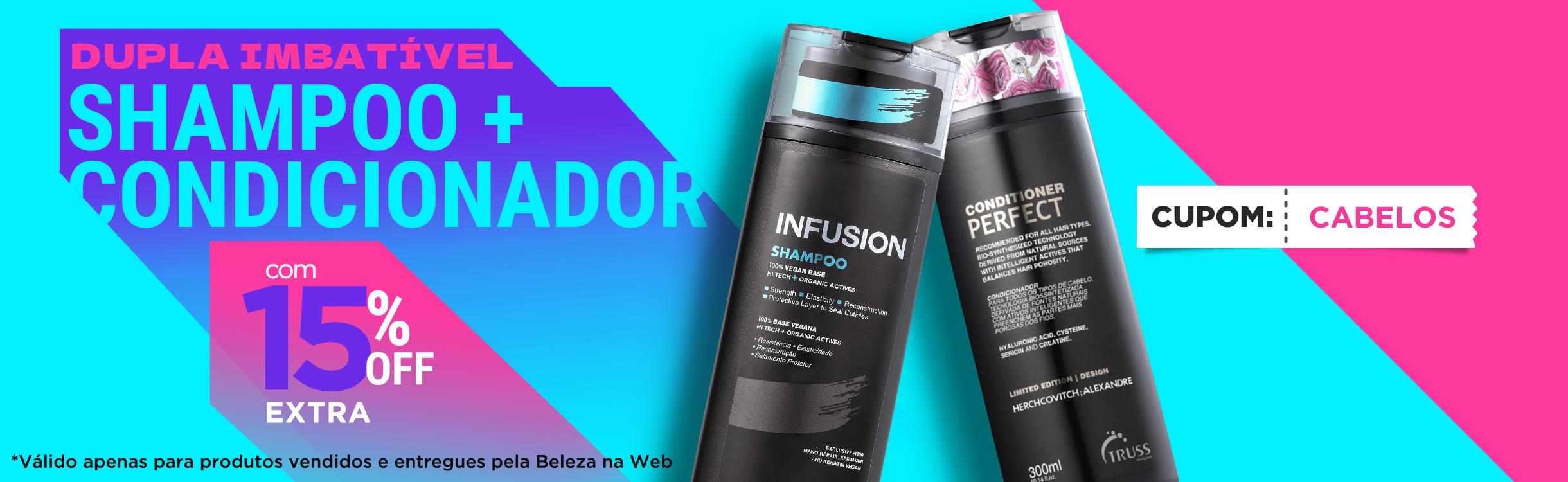 Cuidados Diários | Escolhe Shampoo + Condicionador