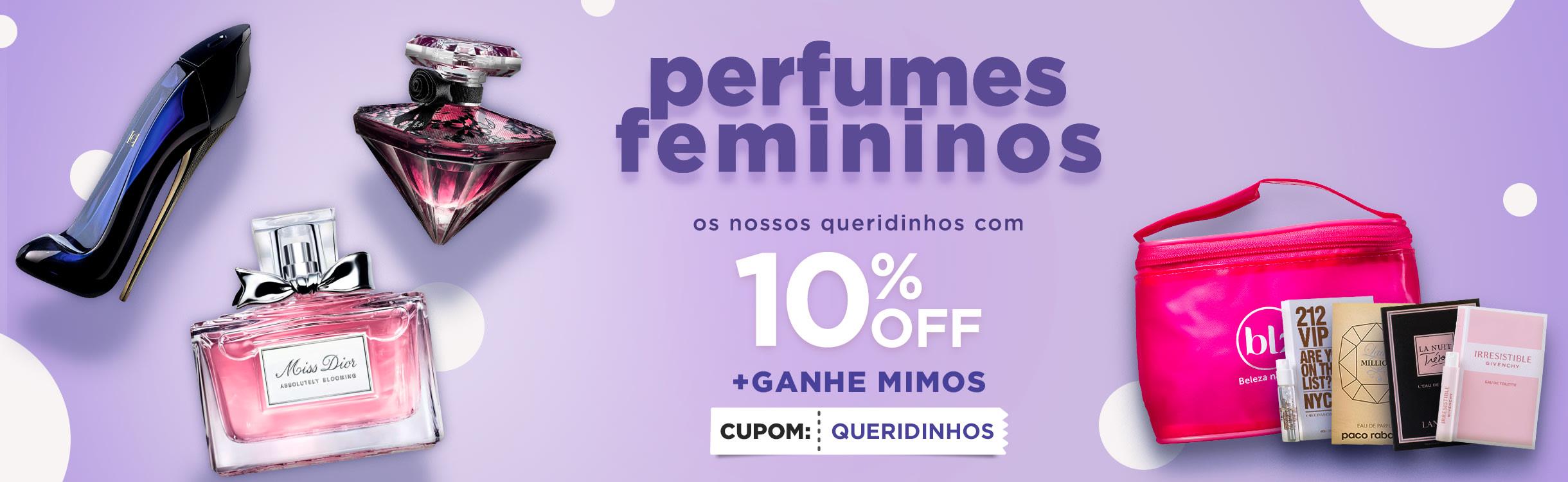 Perfumes e Perfumaria Femininos
