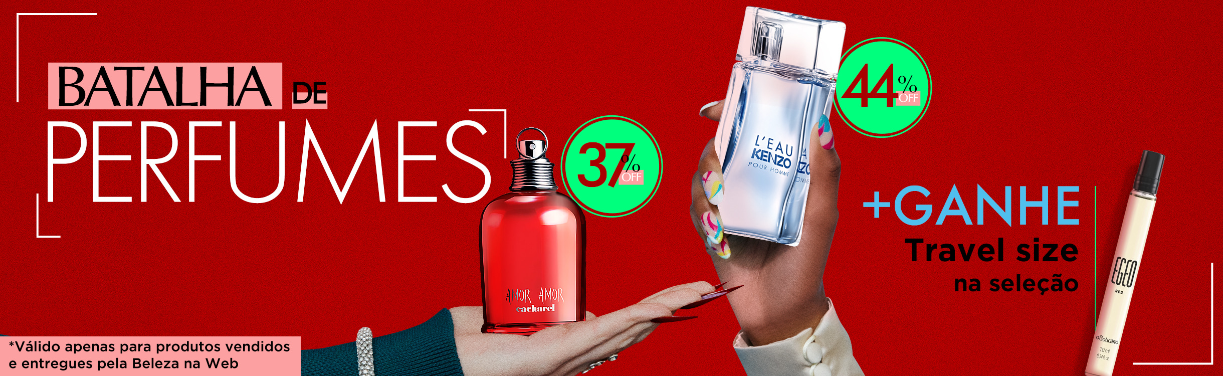 Escolha o Seu Perfumes e Perfumaria | Desejos de Beleza