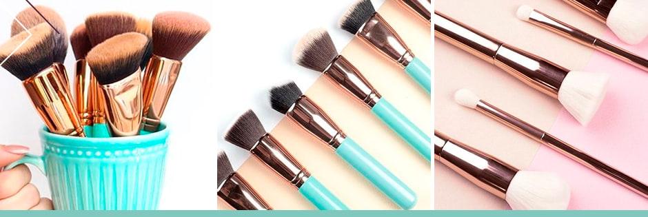 Kits Beautybox de Pincéis para Maquiagem