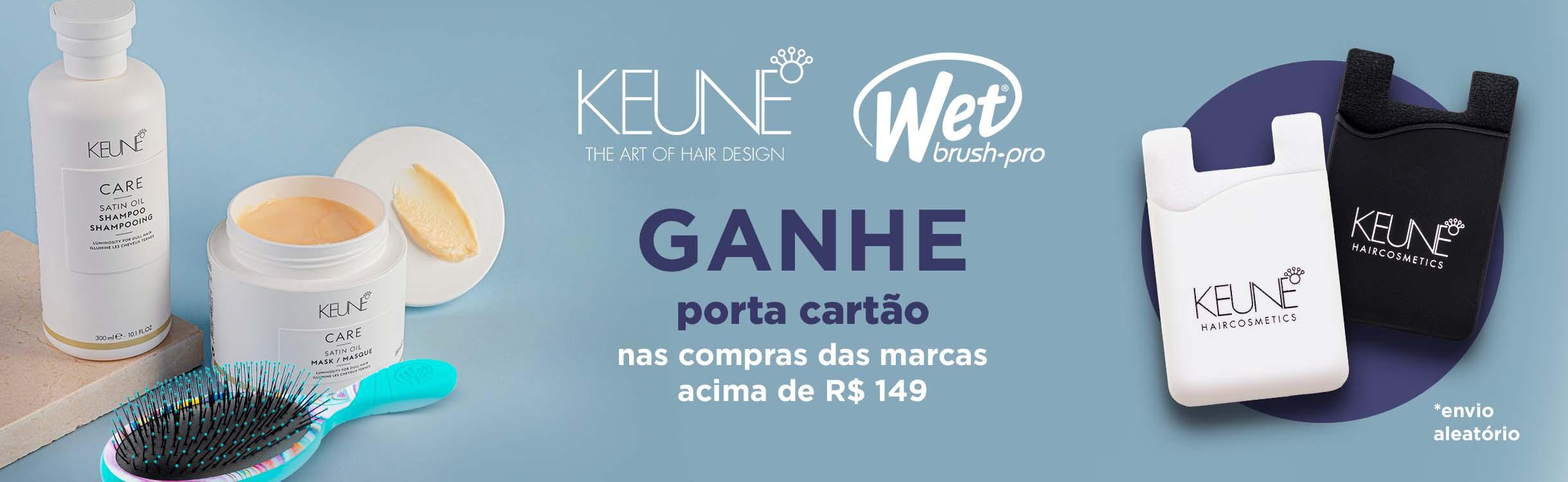 Keune & Wet Brush