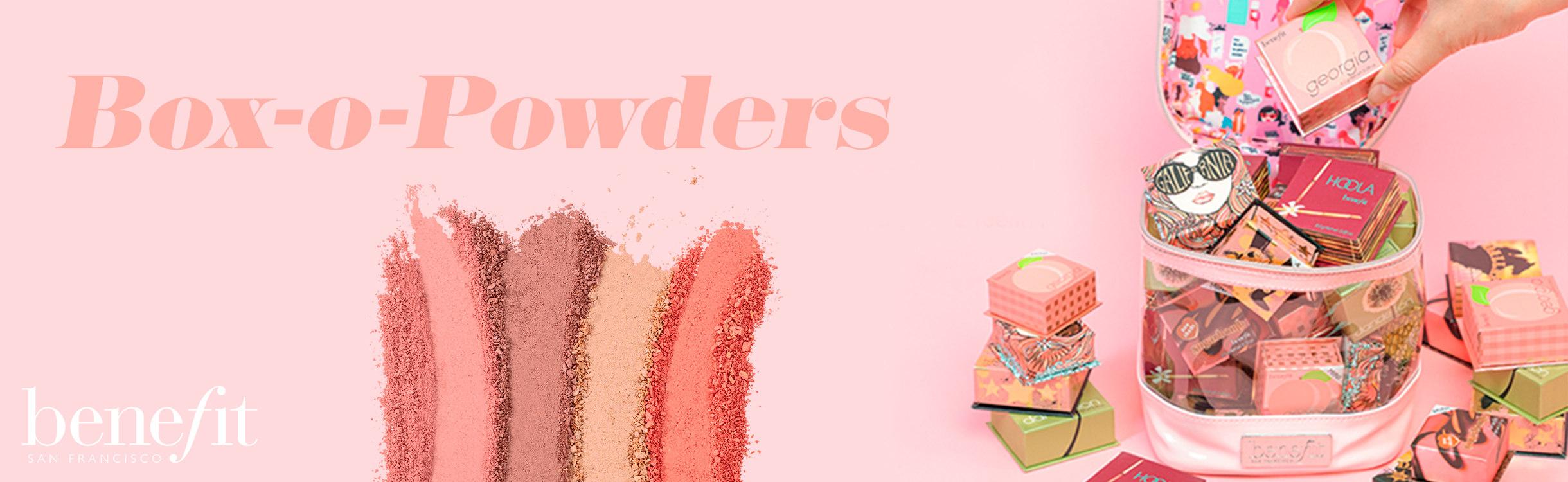 Benefit Cosmetics Box O' Powders!