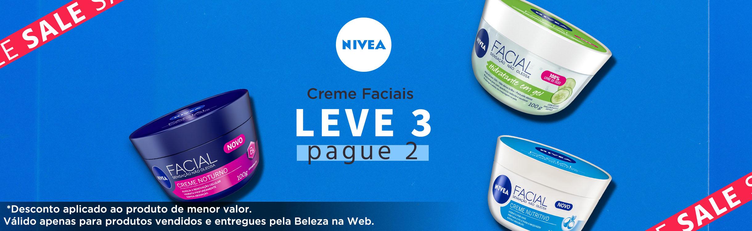 Hidratantes faciais para todos os tipos de pele!