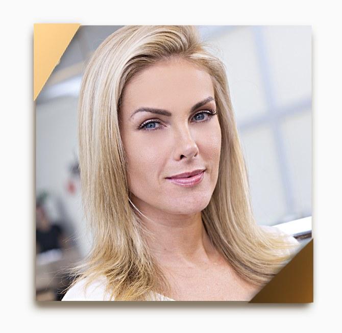 3235b0e20b1fa Cabelo loiro de Ana Hickmann – Beleza na Web