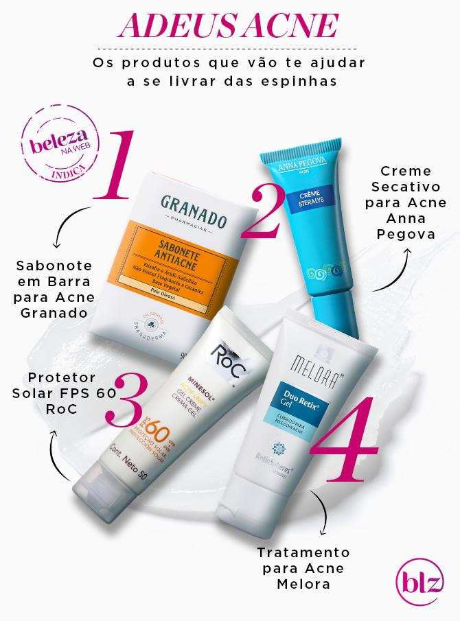 acne creme anti-inflamatório tópico